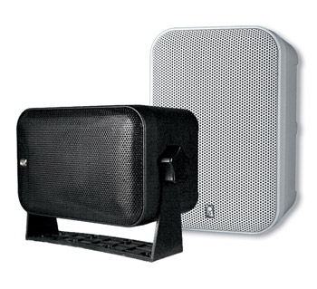 Poly-Planar MA9060 White Box Speakers - Set of Two