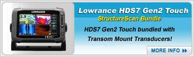 Lowrance HDS7 Gen2 Touch StructureScan Bundle
