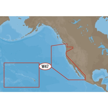 C-MAP MAX Wide NA-M024 US West Coast