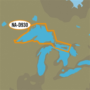 C-MAP 4D Local Chart - Lake Superior