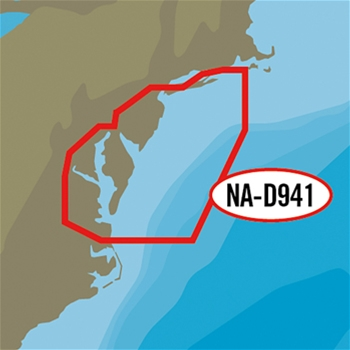 C-MAP 4D Local Chart - Block Island to Norfolk