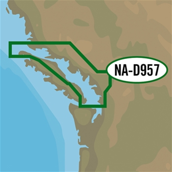 C-MAP 4D Local Chart - San Juan Islands to Nigei Island