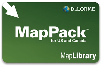 DeLorme Map Library Subscription Card