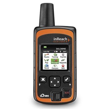 Delorme inReach Explorer 2-Way Satellite Communicator