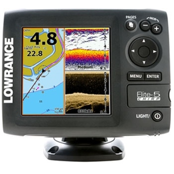 Lowrance Elite 5 CHIRP Gold without Transducer