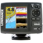 Lowrance Elite 5 CHIRP Gold with 50/200 & 455/800 Transducer