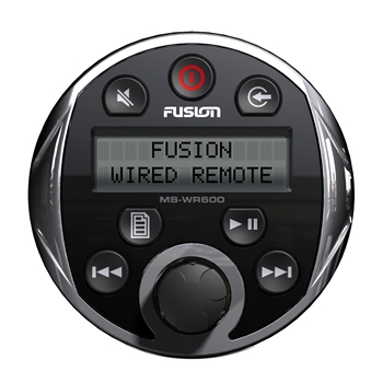 Fusion WR-600 Wired Remote Chrome