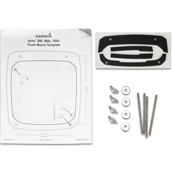 Garmin Flush Mount Kit for Echo 200/500 Series