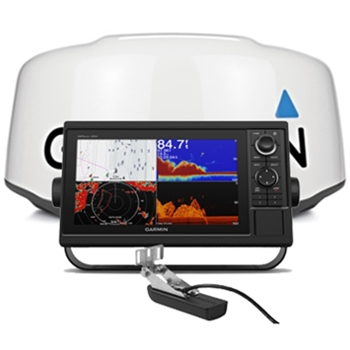 Garmin GPSMAP 1042xsv with Transducer and GMR 18xHD Radar Bundle