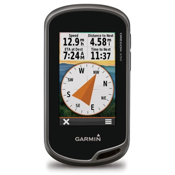 Garmin Oregon 650 24K Topo Bundle