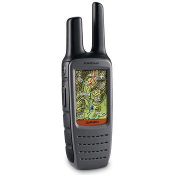 Garmin Rino 650 GPS with Two Way Radio
