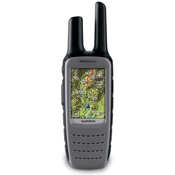 Garmin Rino 655T GPS with FRS Radio and Topo Maps
