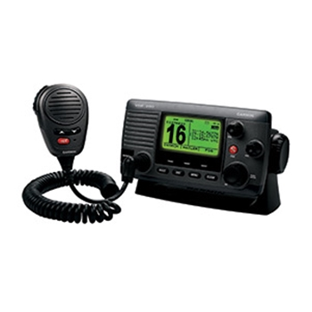 Garmin VHF 200 Black Fixed Mount VHF Marine Radio