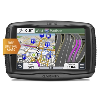 Garmin zumo 590LM Tire Pressure Bundle