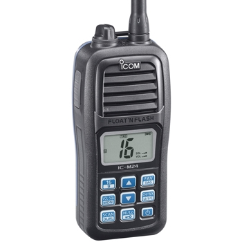 Icom M24 Floating Handheld VHF Radio