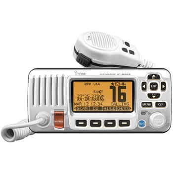 ICOM M424 Fixed Mount Marine VHF - White