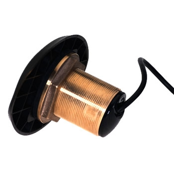 Lowrance HDI Transducer 0 Degree Bronze Thru-Hull