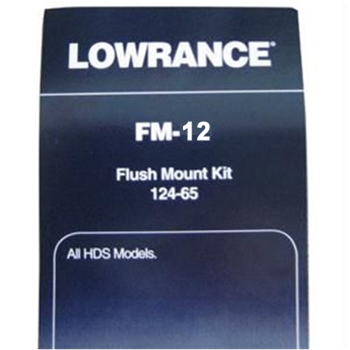 Lowrance FM12 Flush Mount kit for all HDS Displays