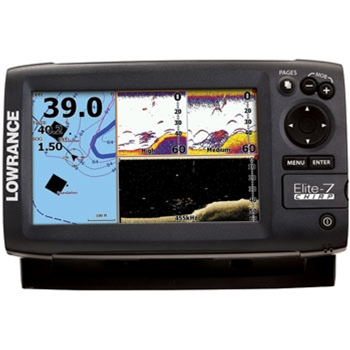 Lowrance Elite 7 CHIRP  Gold without Transducer