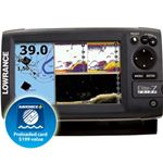 Lowrance Elite 7 CHIRP Gold with 83/200 & 455/800 Transducer