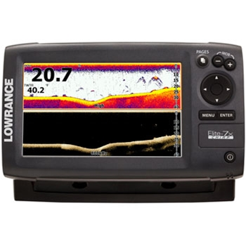 Lowrance Elite 7X CHIRP Fishfinder with 83/200 & 455/800