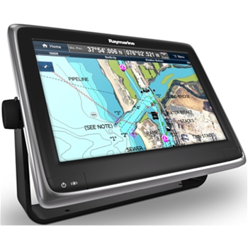 Raymarine a125 GPS with WiFi and US Coastal Charts