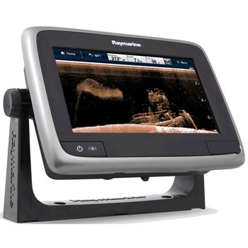 Raymarine a78 GPS Fishfinder with Wi-Fi and Transducer