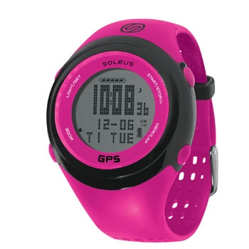 Soleus GPS FIT 1.0 Running GPS Watch - Pink