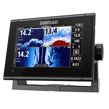 Simrad GO7 XSR with CMAP Discover Charts and Active Imaging Transducer