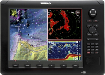 Simrad NSE12 Fishing Package with BSM-1