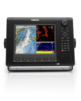 Simrad NSE 8 Fishing Package with BSM-1