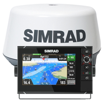 Simrad NSS7 evo2 3G Radar Bundle
