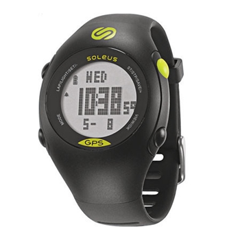 Soleus GPS Mini Black with Lime