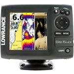 Lowrance Elite 5 HDI Basemap with 50/200 & 455/800 Transducer