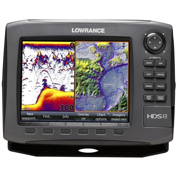 Lowrance HDS 8 Gen2 Chartplotter Fishfinder with 83/200khz Transducer