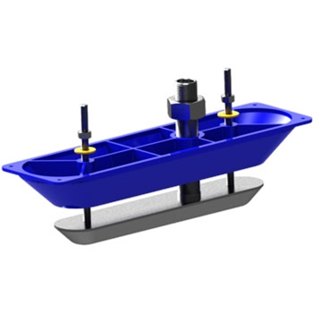 Navico StructureScan HD Stainless Steel Thru-Hull Transducer