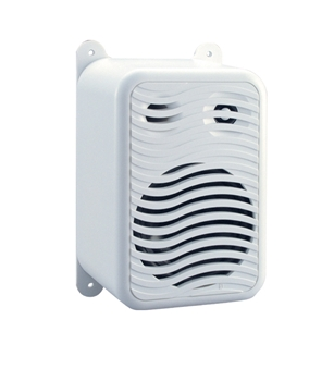 Poly-Planar MA9020 White Under Gunwale Box Speaker