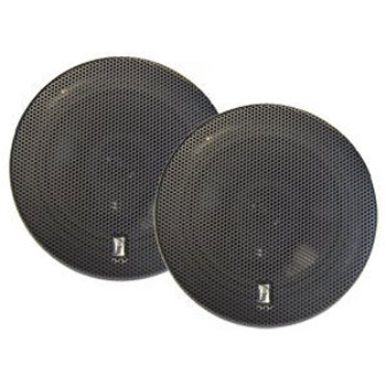 "Poly-Planar MA8506 6"" Black Titanium Series Speakers - Set of Two"