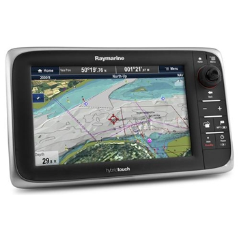 Raymarine e95 Chartplotter with USA Coastal Charts
