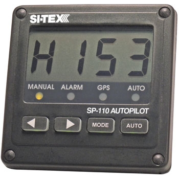 Si-Tex SP110 Autopilot with Virtual Feedback