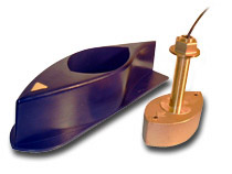 Navico B260 Bronze 1kW Thru-Hull Transducer with Fairing Block