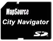 Garmin City Navigator DACH, Czech. Rep on MicroSD/SD