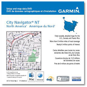 Garmin MapSource City Navigator NT North America 2014 for PC and MAC