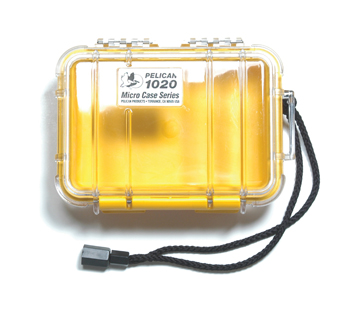 Pelican Micro Case 1020 - Yellow