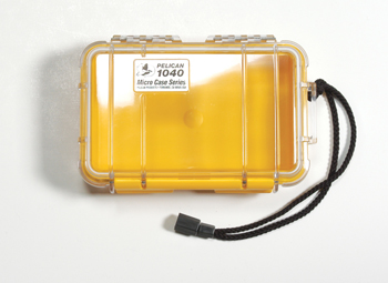 Pelican Micro Case 1040 - Yellow