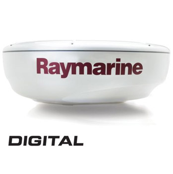 Raymarine RD424D 4KW 48nm Digital Radar