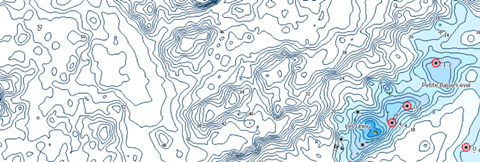 CMap Lake Custom Shading Charts