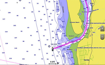 Garmin Bluechart G3 Auto Guidance