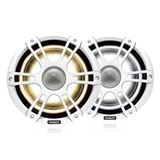 "Fusion SG-F882SPW 8.8"" Signature 3 Sport White Speakers with LED Lighting"