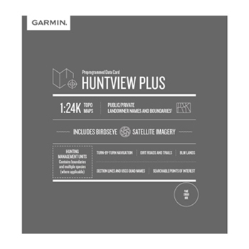 Garmin HuntView Plus Maps 2020/21- Tennessee